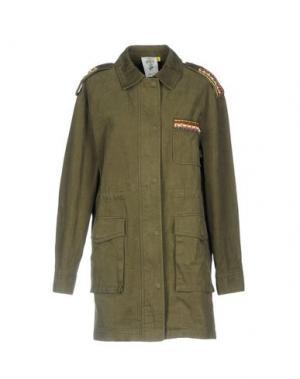 Легкое пальто STEVE J & YONI P. Цвет: зеленый-милитари
