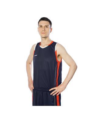 Майка спортивная 2K. Цвет: темно-синий, белый, красный