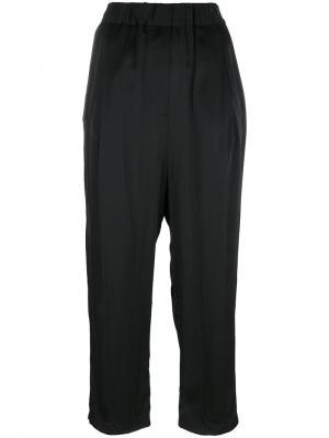 Укороченные брюки с завышенной талией Damir Doma. Цвет: чёрный