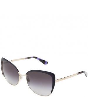 Очки с оправой из пластика и металла Dolce & Gabbana. Цвет: фиолетовый