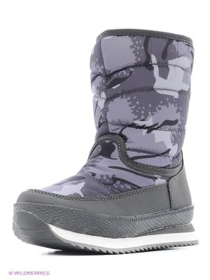 Ботинки Makfly. Цвет: серый