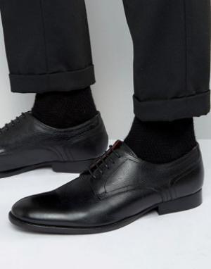 Base London Кожаные туфли дерби Ford. Цвет: черный
