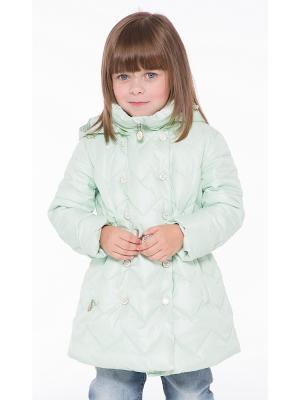 Пальто Pulka. Цвет: светло-зеленый