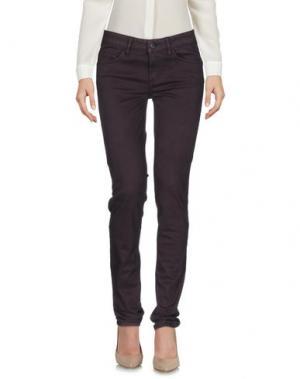 Повседневные брюки REBEL QUEEN. Цвет: фиолетовый