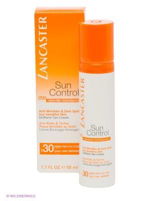 Солнцезащитный крем LANCASTER. Цвет: оранжевый, белый