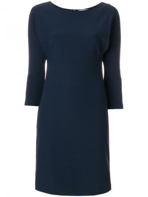 Платье Fanny Gianluca Capannolo. Цвет: синий