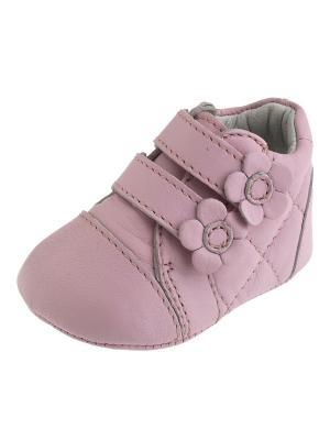 Кроссовки CHICCO. Цвет: розовый