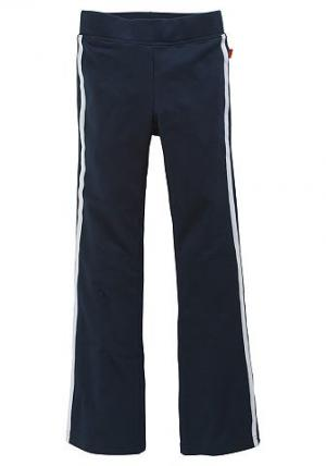 Спортивные брюки, CFL. Цвет: синий морской