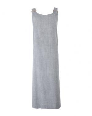 Длинное платье VIVIENNE WESTWOOD ANGLOMANIA. Цвет: серый