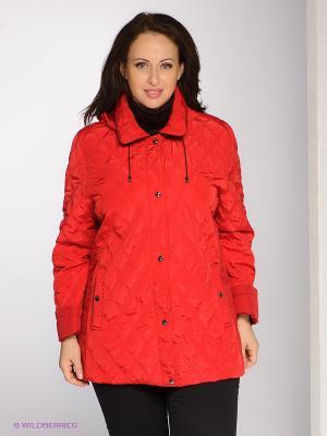 Куртка VIKTORIA Maritta. Цвет: красный