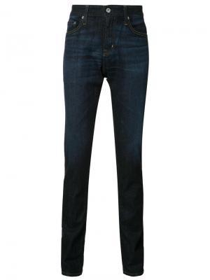 Джинсы кроя слим  Tellis Ag Jeans. Цвет: синий