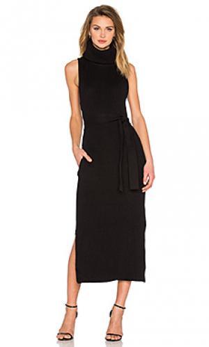 Платье idyllic knit Viktoria + Woods. Цвет: черный