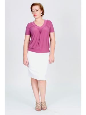Блузка Pelagueya. Цвет: лиловый