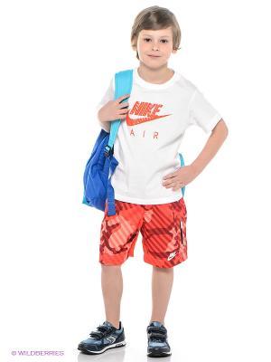 Шорты HBR SWIM SHORT LK Nike. Цвет: красный