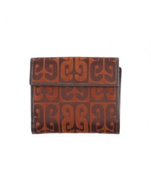 Бумажник PIERO GUIDI. Цвет: темно-коричневый