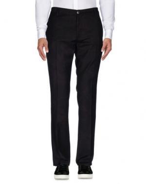 Повседневные брюки JOHN VARVATOS. Цвет: красно-коричневый