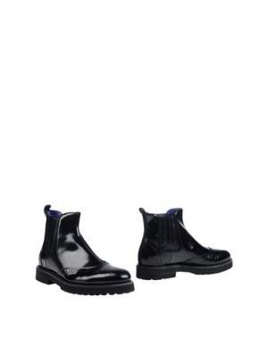 Полусапоги и высокие ботинки 181 by ALBERTO GOZZI. Цвет: темно-синий