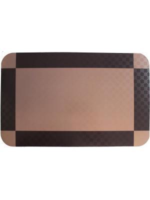 Плейсмат с принтом, набор 4 шт. ПВХ Dorothy's Нome. Цвет: коричневый, темно-коричневый