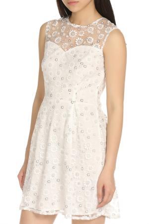 Легкое платье летнего настроения Iska. Цвет: white
