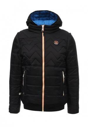 Куртка утепленная Homebase. Цвет: черный