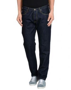 Джинсовые брюки MACCHIA J. Цвет: синий