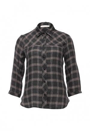 Рубашка NewLily. Цвет: серый