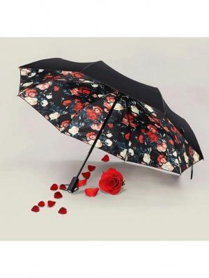 Зонт Remax Automatic RT-U3 Autumn. Цвет: черный, бежевый, красный