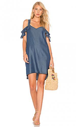Платье madeline Sanctuary. Цвет: синий