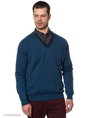 Пуловер Navigare. Цвет: синий