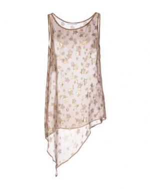 Топ без рукавов CARLA G.. Цвет: телесный