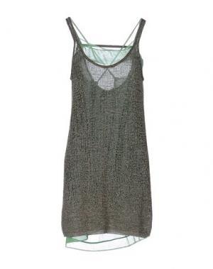 Короткое платье ...À_LA_FOIS.... Цвет: зеленый-милитари