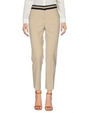 Повседневные брюки NINETTE. Цвет: бежевый