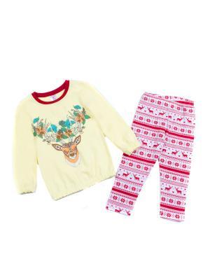 Комплект одежды PEPELINO. Цвет: желтый