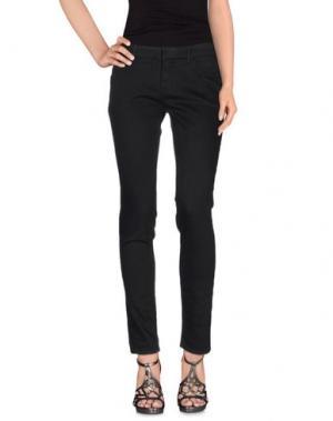 Джинсовые брюки SILENT. Цвет: черный