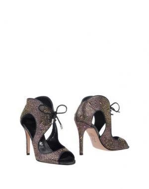 Полусапоги и высокие ботинки GINA. Цвет: черный