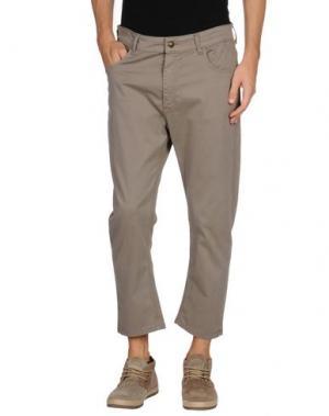 Повседневные брюки MINIMAL. Цвет: голубиный серый