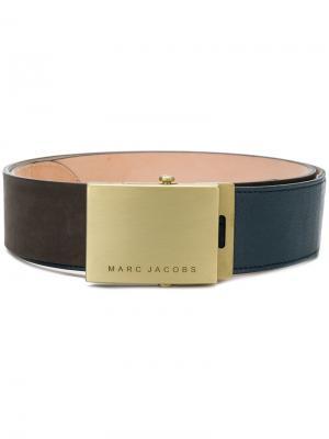 Ремень с пряжкой логотипом Marc Jacobs. Цвет: коричневый