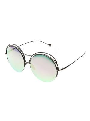Очки солнцезащитные Pretty Mania. Цвет: зеленый,розовый,желтый