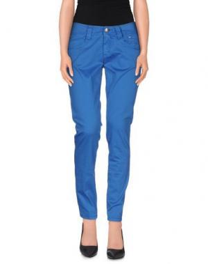 Повседневные брюки CARLO CHIONNA. Цвет: синий