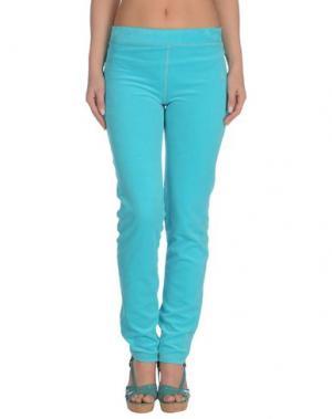 Пляжные брюки и шорты BLUMARINE BEACHWEAR. Цвет: бирюзовый