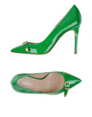 Туфли FIORANGELO. Цвет: зеленый