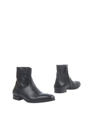 Полусапоги и высокие ботинки N.D.C. MADE BY HAND. Цвет: черный