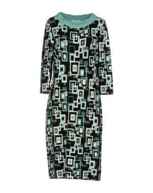 Платье до колена STIZZOLI. Цвет: светло-зеленый