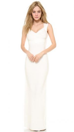 Вечернее платье Extrella Herve Leger. Цвет: алебастровый
