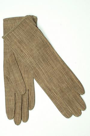 Перчатки Dali Exclusive. Цвет: бежевый, светло-серый