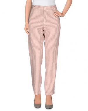 Повседневные брюки LOCAL APPAREL. Цвет: телесный