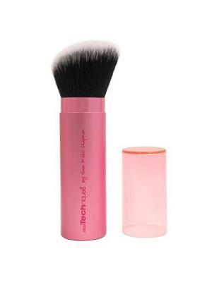 Real Techniques Кисть Кабуки Retractable Kabuki Brush. Цвет: розовый, белый, черный