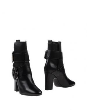 Полусапоги и высокие ботинки PIERRE HARDY. Цвет: черный