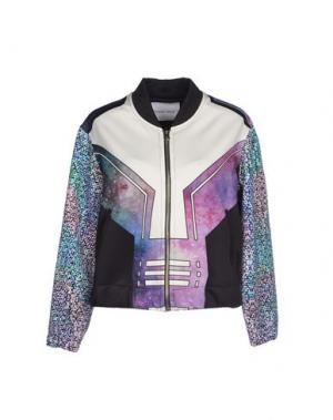 Куртка THE TEXTILE REBELS. Цвет: фиолетовый