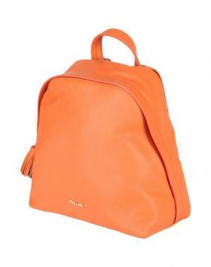 Рюкзаки и сумки на пояс POLLINI. Цвет: оранжевый